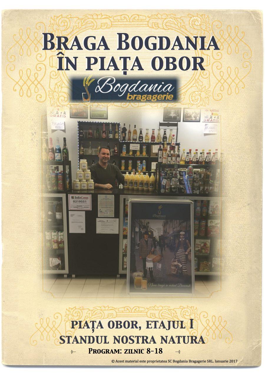 Braga Bogdania în Piața Obor